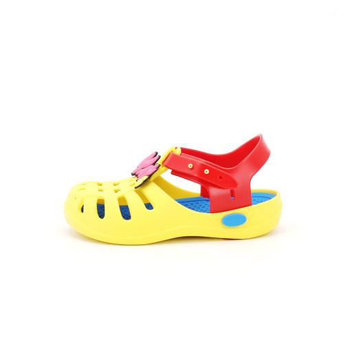 S/S 2020春夏 童鞋哆啦A梦联名款拖鞋  T1100C 黄色
