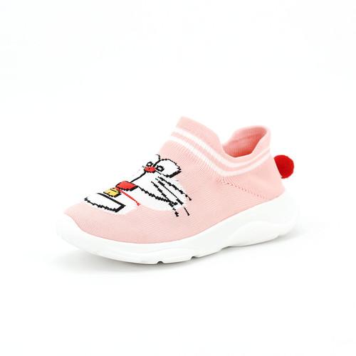 S/S 2020春夏 童鞋哆啦A梦联名款休闲鞋 78268C 粉红色