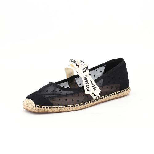 S/S 2020春夏 女士蝴蝶结休闲鞋 01805W 黑色