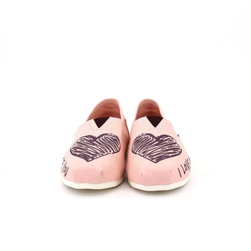 S/S 2020春夏 女士帆布休闲鞋 62198W 粉红色