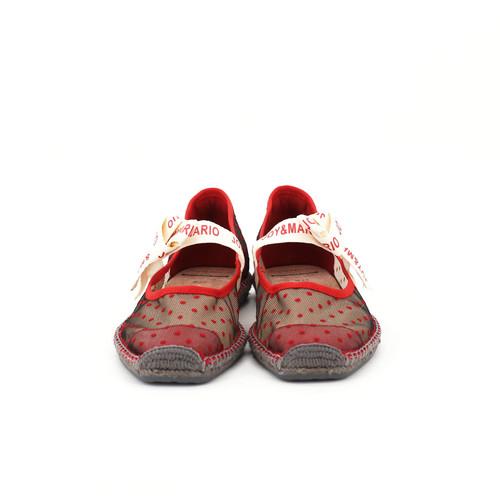 S/S 2020春夏 女士蝴蝶结休闲鞋 01805W 红色