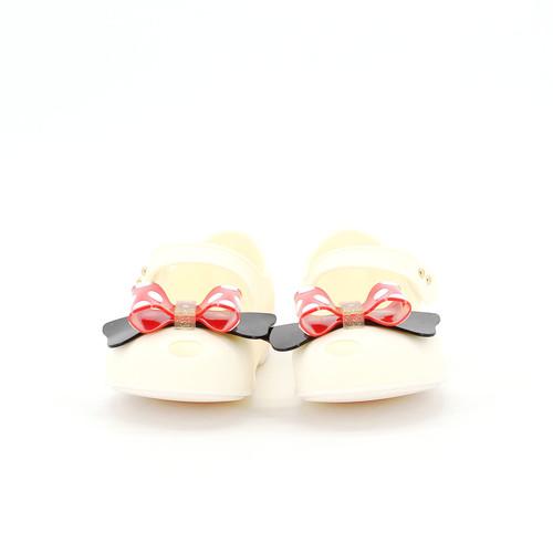 S/S 2020春夏 女童蝴蝶结休闲鞋 T1108C 米白色