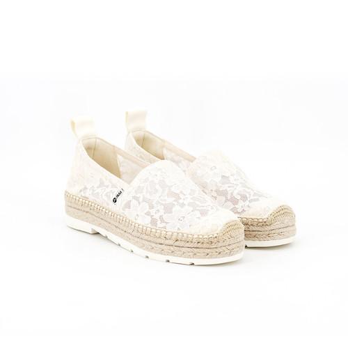 S/S 2020春夏 女士麻底休闲鞋 02028W 白色