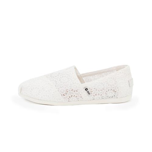 S/S 2020春夏 女士帆布休闲鞋 62187W 白色