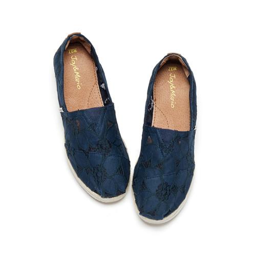 S/S 2020春夏 女士休闲鞋 81197W 深蓝色