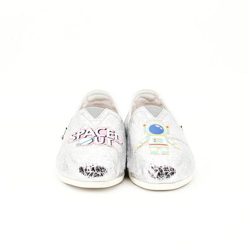 S/S 2020春夏 女士NASA联名款休闲鞋 62170W 银色