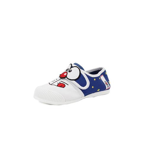 S/S 2020春夏 童鞋哆啦A梦联名款休闲鞋  63195C 蓝色