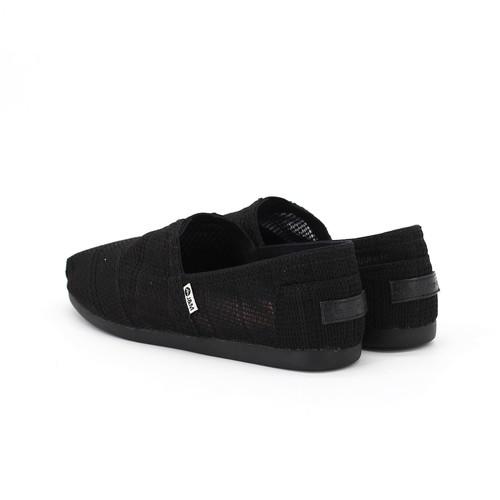 S/S 2020春夏 女士帆布休闲鞋 62196W 黑色