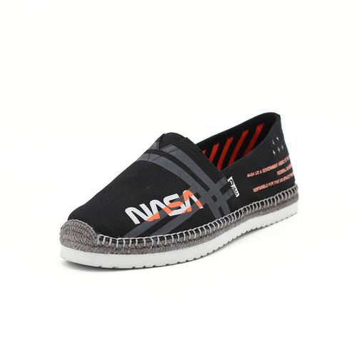 S/S 2020春夏 男士NASA联名款麻底休闲鞋  57309M 黑色