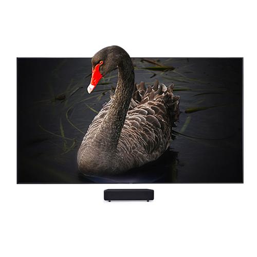 100寸激光电视4K高清超短焦投影黑栅菲涅尔抗光幕布DINON ONE PRO