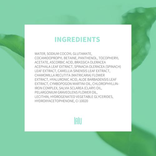 Kale + Green Tea Super Face Cleanser