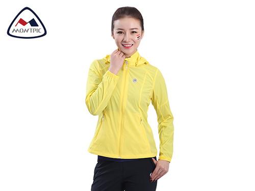 春季女防风防水皮肤衣WJKV91206