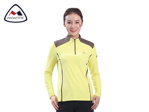 春季女吸湿速干T恤WTSA91207