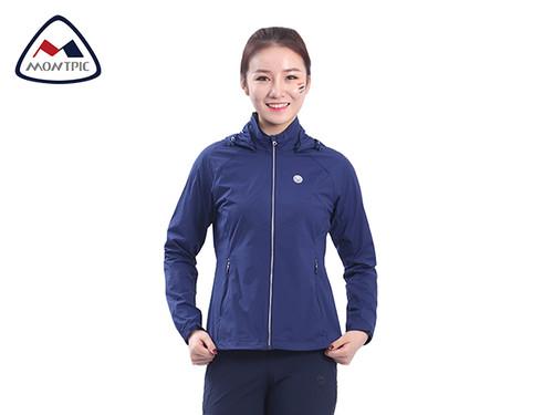 春季女防风防水皮肤衣WJKV91204