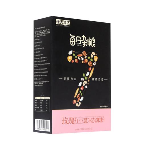 璟秀湾区玫瑰红豆薏米谷物粉300g