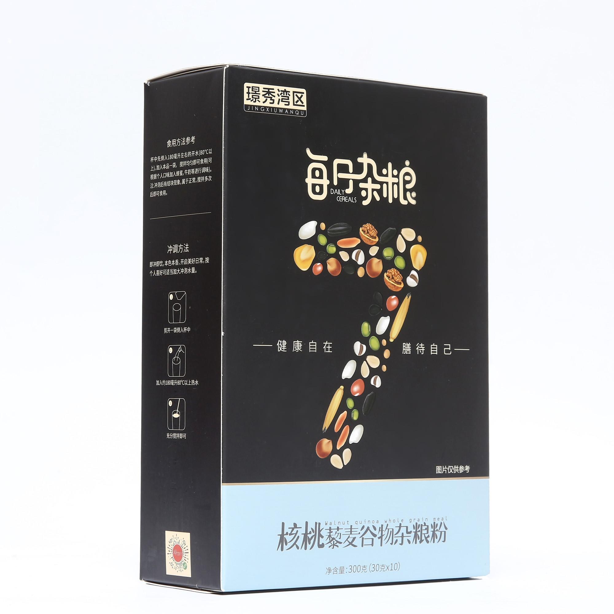 璟秀湾区核桃藜麦谷物杂粮粉300g
