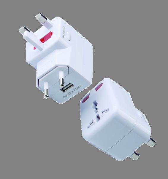 Multi-function adaptor 全球通带USB转换插座