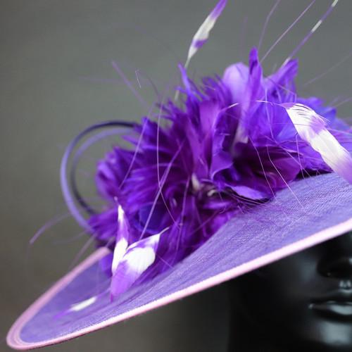 帽仕汇高级头饰--紫气东来11180306024
