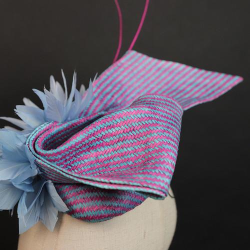 帽仕汇高级头饰-粉蓝佳人