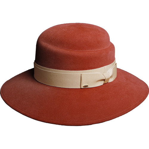 帽仕汇进口兔毛毡礼帽19184105021