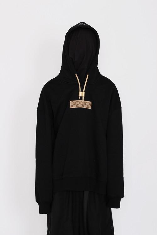 inner alchemy G box logo hoodie