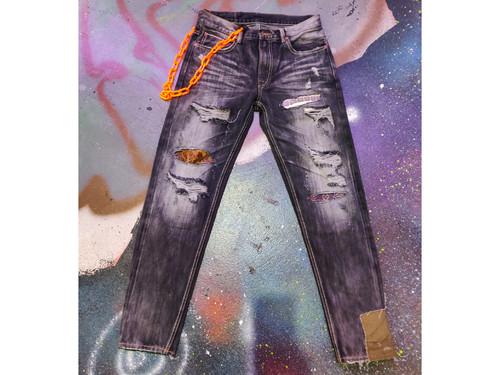 inner alchemy Denim mix jeans