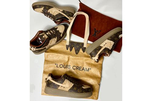 "inneralchemy ""louis cream"" remake AF1+dunk sb 两双打包福袋"