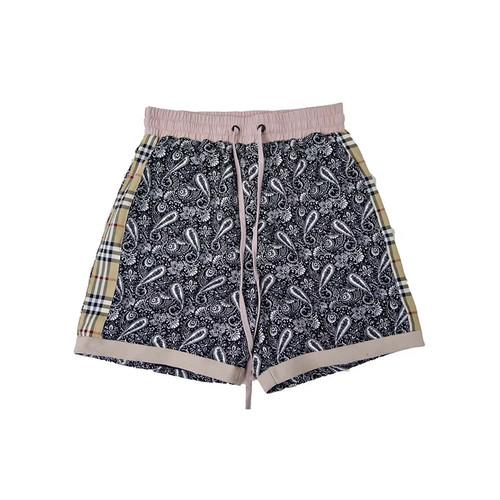inneralchemy 腰果花格纹拼接短裤⛱