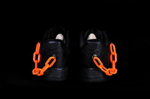 inner alchemy 2019ss orange chain black