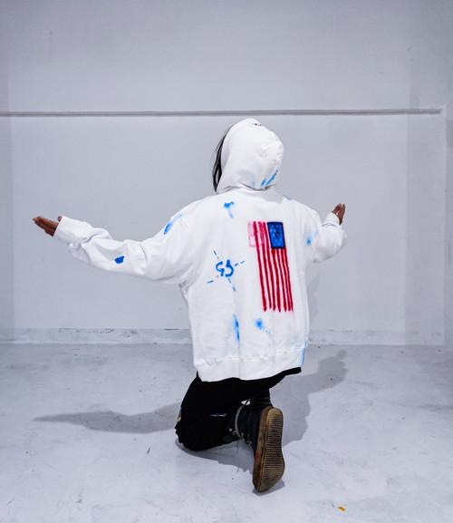 inneralchemy NO WAR remake hoodie
