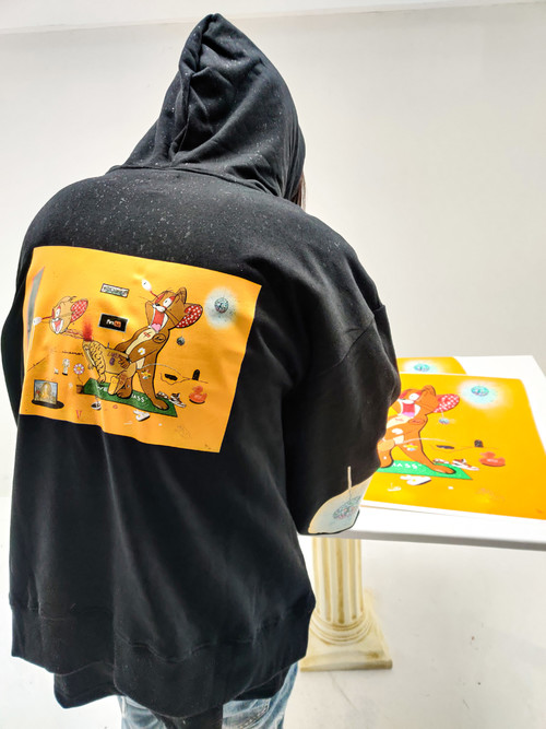 inner alchemy New Year Limited edition hoodie