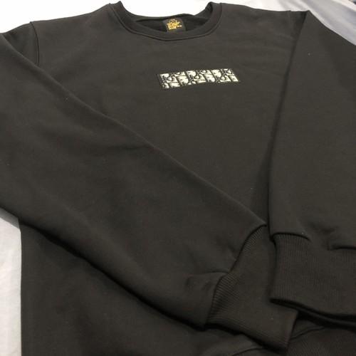 inneralchemy 'D' remake box logo black sweater