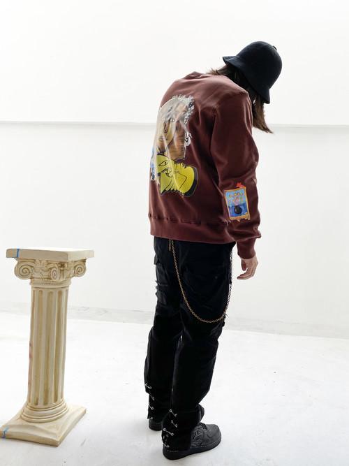 inner alchemy basement sweater brown