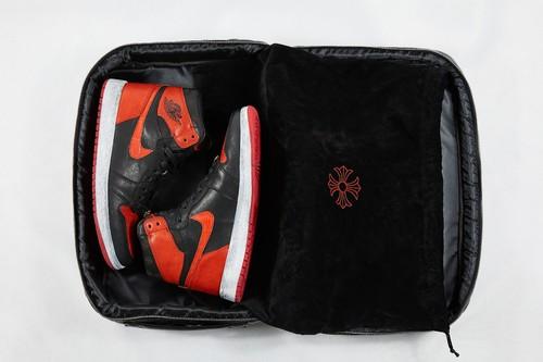 Air Jordan 1 Bred Chrome Hearts