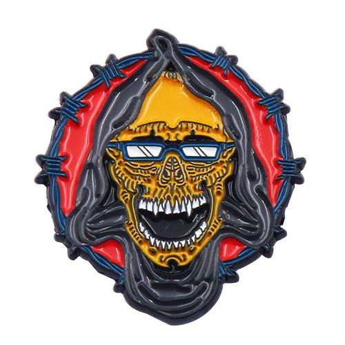 oem sgs cartoon approved metal enamel electroplating wholesale keychain personalised custom medal pi