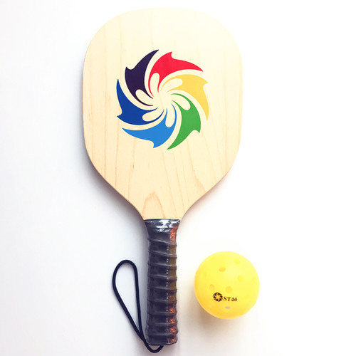 Sinowester Amazon's Pop Maple Wood Pickleball Paddle