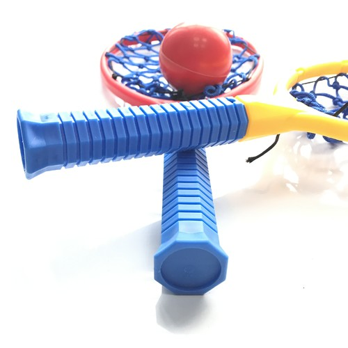 Sinowester Promotional Eco-friendly Sport Toy Plastic Tennis  Paddle Bat Sets