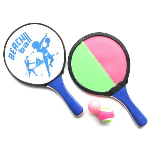 Sinowester Promotional Eco-friendly Sport Toy Beach&Catch Racket Sets
