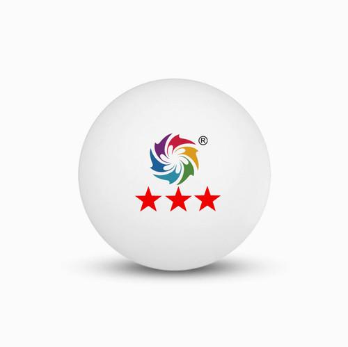 Sinowester Φ40 seamless Hard 1Star 2Star 3Star Celluloid Pingpong Balls with OEM