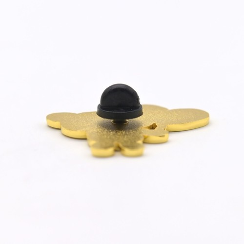 metal butterfly promotional soft enamel wholesale keychain pins metal custom logo lapel pin medal k