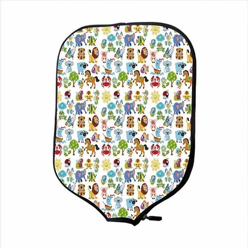 Wholesale Custom Durable Neoprene Pickleball Cover Bag