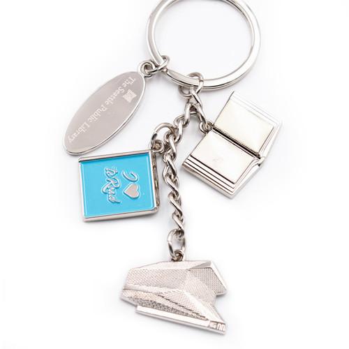 oem sgs approved metal promotional enamel wholesale keychain pins custom key rings