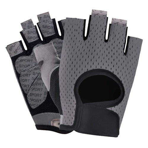 Hot Sale China Supply Half Finger Breathable Comfortable Outdoor Sports Gloves