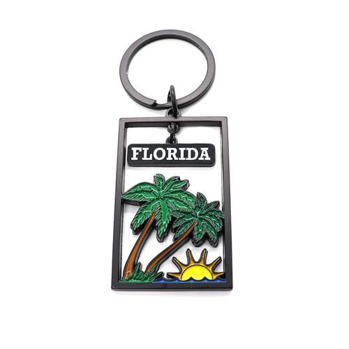 oem sgs approved promotional enamel wholesale keychain personalised keyring custom key rings metal