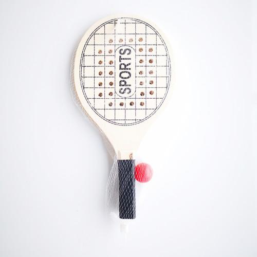 Professional Custom Design DIY Popular Colorful Cheap Wood Beach Tennis Racket