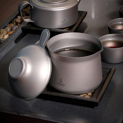 纯钛功夫分茶器套装
