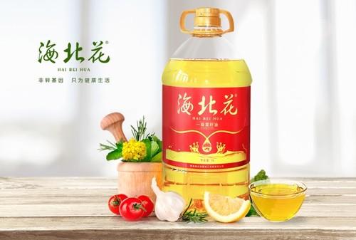 海北花一级压榨菜籽油