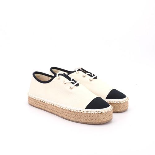 S/S 2021春夏 女士休闲鞋 85022W 米白色