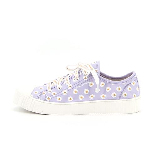 S/S 2020春夏 女士帆布休闲鞋 65075W 紫色