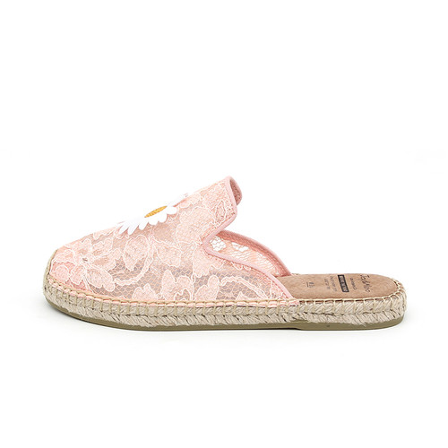 S/S 2020春夏 女士穆勒休闲拖鞋 01901W 粉红色